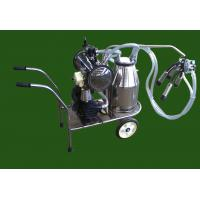 China XD32WY-1 single bucket and oilless Vacuum pump Electric motor mobile milking machine on sale