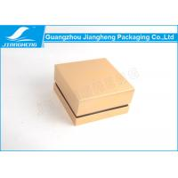 Gold Square Professional Design Cardboard Gift Box Custom Logo Manufactures