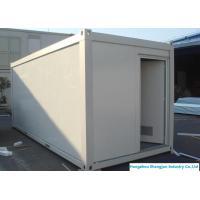 China Easy Installed Prefabricated Steel Buildings Movable Office Container House 20ft / 40ft wholesale