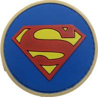 Superman Rubberized Pvc Morale Patch Manufactures