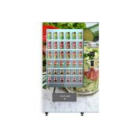 University School Intelligent Salad Vending Machine , Automated Salad Vending Tower Manufactures