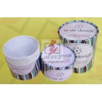 Round Food Packaging Containers / Cardboard Cylinder Boxes Packaging Manufactures