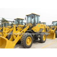 2.5m3 Bucket Front Loader Heavy Equipment Weichai DEUTZ Engine 11 Tons Operating Weight Manufactures