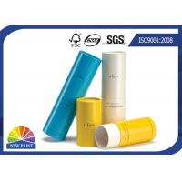 China Tea / Cosmetic / Skincare Paper Packaging Tube / Luxury Recycled Custom Paper Tubes on sale