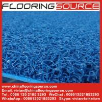 PVC Cushion Coil Mat Vinyl looped mat Non-slip wet area Manufactures