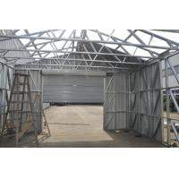 China Fireproof Light Steel Frame Metal Car Shed With Steel Sheet Cladding on sale