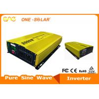 High Frequency Off Grid Inverter Pure Sine Wave 3000W 12 / 24V To 220V Single Phase Manufactures
