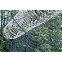 High Strength Anti Corrosion Razor Fencing Wire , Razor Blade Barbed Wire Metal Manufactures