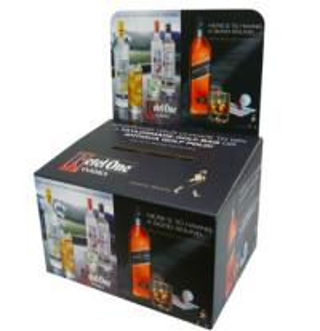 China Custom Packaging Cardboard Boxes , Waterproof Corrugated Storage Boxes on sale