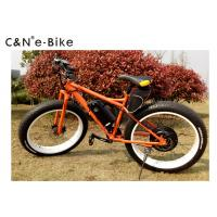 China Off Road Fat Tire Electric Bicycle , 25kph Speed Electric Fat Tyre Bike wholesale