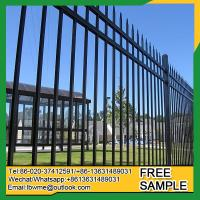 China Jacksonville wrought iron fence toppers Weymouth steel railings wholesale