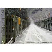 China Hot Dop Galvanized Mabey Compact 200 Bridge Double Lane HD200  Bailey Suspension Bridge wholesale