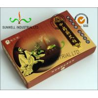 China Full Color Printing Medicine Packaging Box , Herbology Small Cardboard Boxes on sale