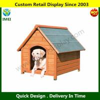 China Log Cabin Dog House on sale