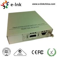 XFP To UTP Fiber Ethernet Media Converter , Multimode Fiber To Ethernet Converter