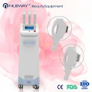 Nubway multifunctional 3 handles ipl machine for hair removal skin rejuvenation