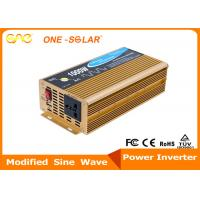 500W 1000W Single Output DC AC Safe / Stable Auto Power Inverter For Car Manufactures