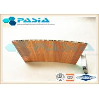 China Wood Veneer Honeycomb Composite Panels Yacht Wall Use Corrosion Resistant on sale