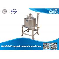 China High Efficient 2.5T 7 DCA Manual Magnetic Separator For Grinding Machine wholesale