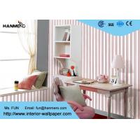 Removable Modern Home Decoration Wallpaper For Bedroom , Non - Woven Material Manufactures