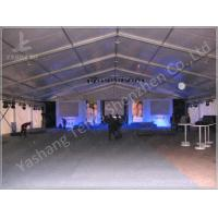 500 Seaters Custom White Outdoor Event Tent , Corporate Event Tent Marquee Manufactures