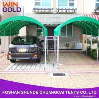 China 2015 Easy Assemble Customized Steel Structure Movable folding car garage tent on sale