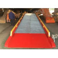 China Loading And Unloading Mobile Yard Ramp / Container Dock Ramp on sale