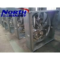 China Centrifugal Shutter Exhaust Fan industrial ventilation steel structure design poultry farm shed Hanoi cooling system on sale