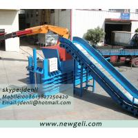 China carboard baling machine,paper baler equipment,waste paper compressing machine on sale