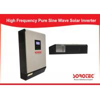 Parallel Operation Solar Power Inverters Up To 6 Units Efficiency Max 98 % Manufactures