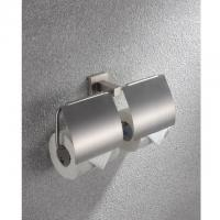 Stainless Steel double Wall Mount Toilet Paper Roll Holder Manufactures