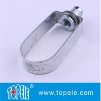 Standard Steel Clevis Hanger / Pipe Clamps For Tunnels, Culverts Strut Channel Unistrut Fittings Manufactures