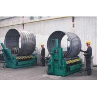 Galvanized Corrugated Steel Culvert Pipe Making Machine With Hydraulic Driven Manufactures