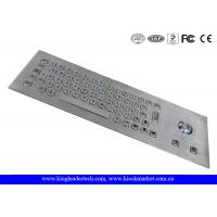 Buy cheap Vandal Proof Stainless Steel Industrial Computer Keyboard With 64 Keys from wholesalers