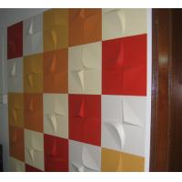 Plant Fiber 3D MDF Wall Panels Home Decor Upholstery Moisture proof and Durable Manufactures