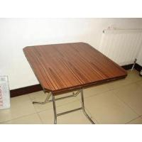 China Solid wood panel mobile household Folding table MQ - 3001 model on sale