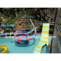 Buy cheap Bowl Boomerang Water Park Slides With 5000 SQM Water Park Land from wholesalers