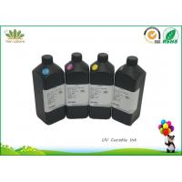 Fluorescent photo id cards printing uv curing ink for EPSON led uv printer, UV Inkjet Ink for all materail Manufactures