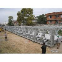 Multiple - Span Modular Steel Bridges DS Double Single Type Bailey Bridge For Highway