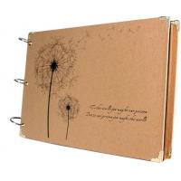 Scrapbook Vintage Photo Albums Dandelion Printed Surface Ideal Valentines Day Gifts Manufactures