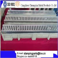 China rain gutter for car trench drain U shape trench drainage on sale