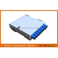 8 Core SC ST Adapter Fiber Optic Cable Junction Box, Cold Rolled Steel 8 Fibers PON Fiber Splice Box Manufactures