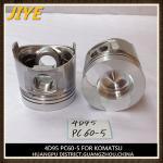 China diesel engine piston, 95mm piston for komatsu S4D95 wholesale