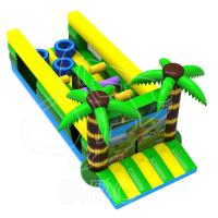 Latest Design Inflatable Kids Bouncer Play Ground Bouncer Obstacle Course For Children Manufactures