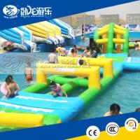 China big durable inflatable water obstacle course for sale wholesale