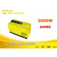 off grid solar inverter single phase pure sine wave dc ac 24vdc to 240v inverter generator 2000w Manufactures