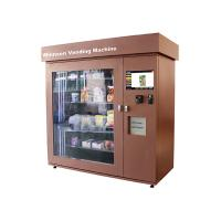 Bottles / Cans / Snacks Kiosk Vending Machine Customed with Network LCD Advertising Display Manufactures