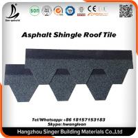 China Fiberglass Red 3-tab Architectural Asphalt Roofing Shingle For Slope Roofing Project on sale