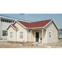 Energe Saving Light Steel Villa / Prefabricated Villa House Comfortable and Durable Manufactures