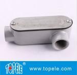 China Aluminum LL Type Rigid Conduit Body For IMC / 4 Inch Rigid  Fitting UL Listed wholesale